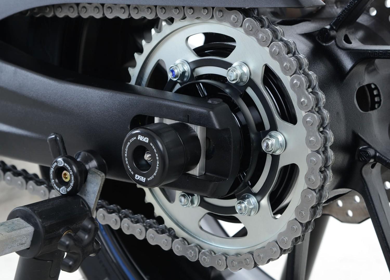 R/&G Racing Swingarm Protectors Yamaha Tracer 700