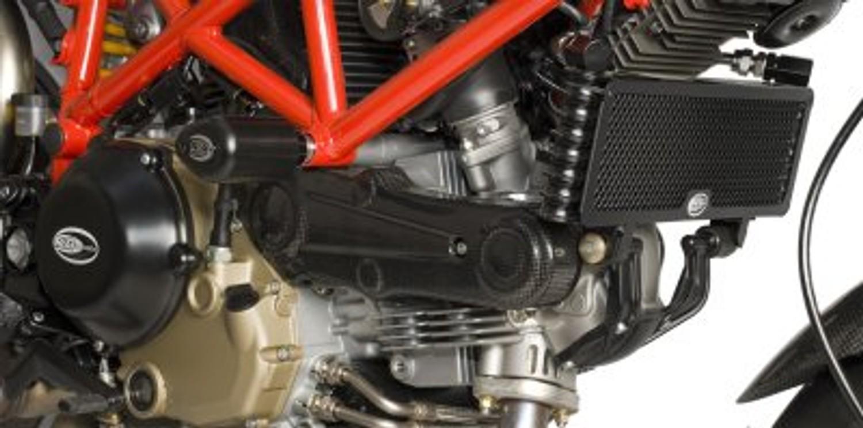 R/&G RACING OIL COOLER GUARD FITS DUCATI HYPERMOTARD 1100 EVO EDITION