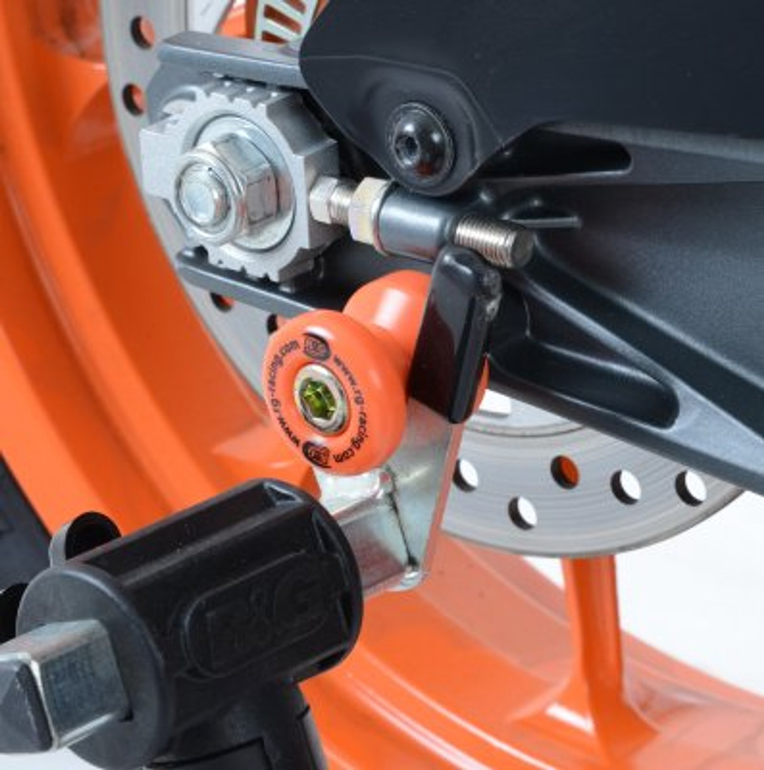 R/&G Racing Cotton Reels For KTM 2014 690 Supermoto