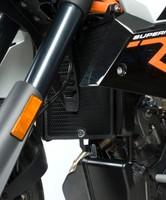 KTM 990R Super Duke 2008 R/&G Racing Radiator Guard RAD0085BK Black
