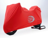 Breathable Indoor motorcycle Dust cover Ducati Panagale 1299 R S Red no print