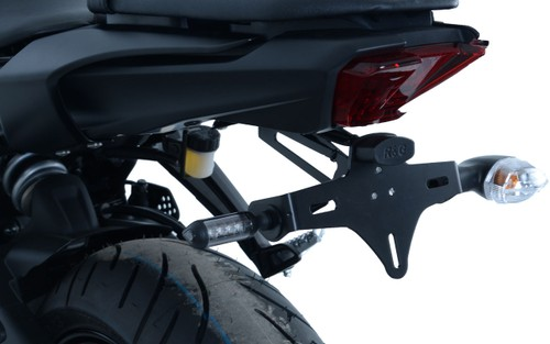 Yamaha MT-07 MT07 2014-2019 R/&G racing black swingarm protectors bobbins