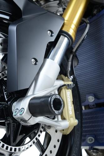 BMW S1000RR 2016 R/&G Racing AERO Fork Protectors FP0143BK Black
